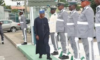 Finally, Ali takes Buhari's Customs job