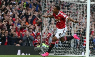 Martial's goal on debut secures United win against Liverpool