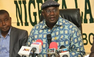 NLC threatens to disgrace governors owing salaries