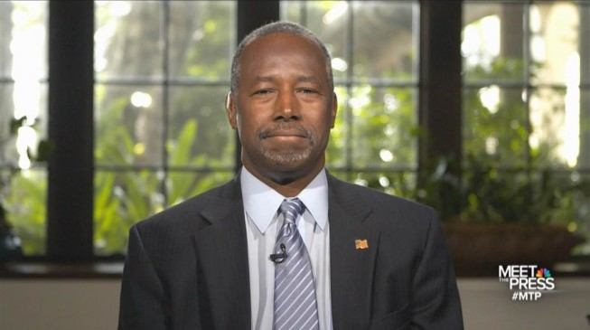 A Muslim should not be US president, says Ben Carson
