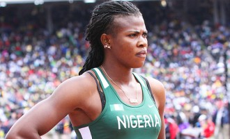 Okagbare crashes out of Olympics 100m
