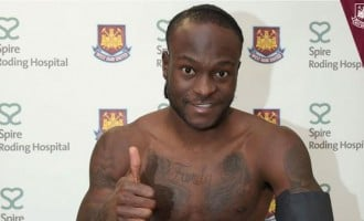 Victor Moses completes West Ham loan deal