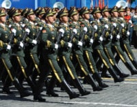 China to cut troop by 300,000