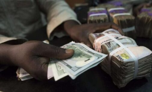Naira weakens at N500/$1 in parallel market after CBN adjustment