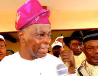 Osun rerun: SDP not involved in Omisore's alliance with APC, says Falae