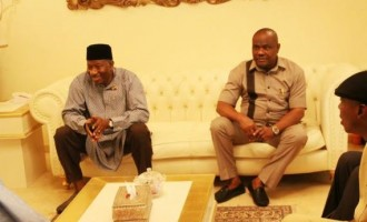 PDP governors visit Jonathan in Otuoke