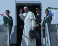 Pope Francis leaves for Cuba, US