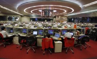 Shanghai composite index swings, GBP ends losing-streak
