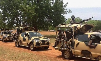 'You must defeat Boko Haram' — Buhari charges soldiers