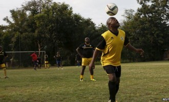 AAG opening ceremony: Africa XI v Rest of the World