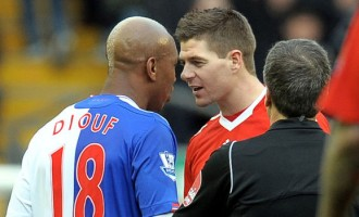 Steven Gerrard 'never liked black people', says El Hadji Diouf
