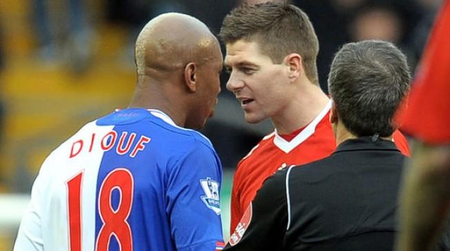 Steven Gerrard 'never liked black people', says El Hadji Diouf