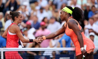 Unseeded Italian ends Serena's 4-slam dream