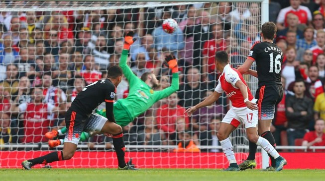 United gunned down by Arsenal at the Emirates