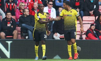 Odion Ighalo scores to earn Waftord away point