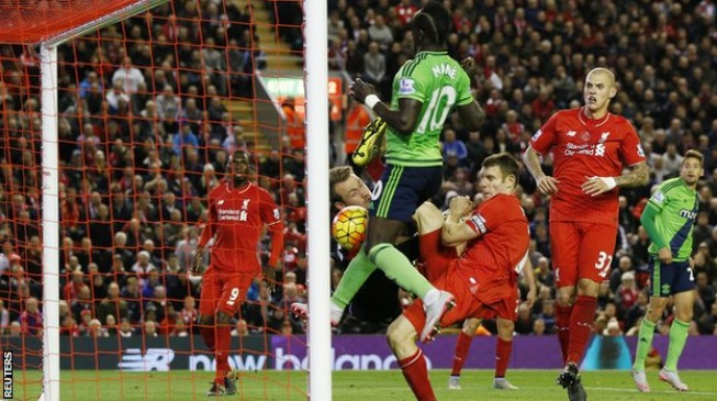 Mane frustrates Liverpool… Manchester derby ends in draw