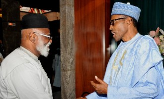 Buhari, Abdulsalami meet behind closed doors