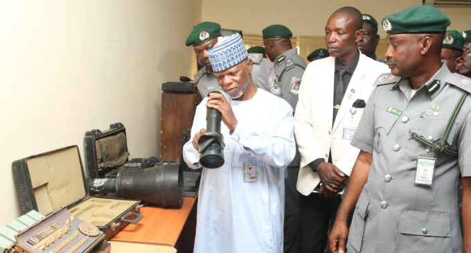 Customs: Why we retired 34 senior officers