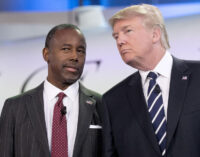 'We aren't in China' — Ben Carson hits social media companies over ban on Trump
