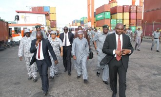 Customs seizes 34 containers of expired rice at Tin Can port