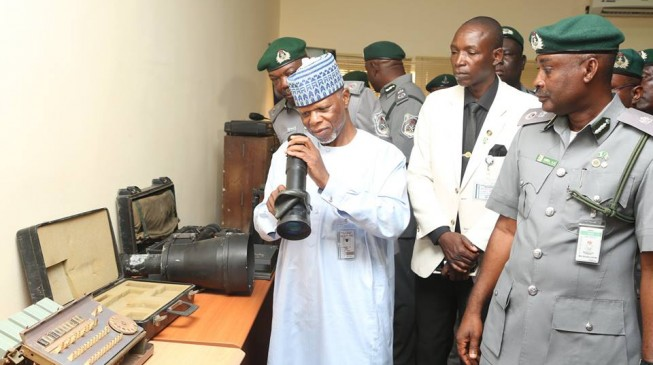 Ali: Corrupt customs officers in trouble