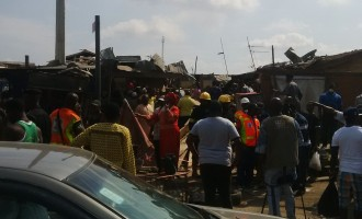 Panic in Lagos over gas explosion