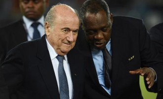 Hayatou becomes acting president of FIFA