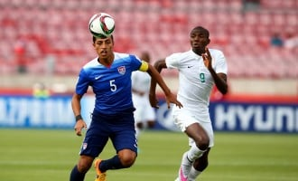 Amuneke ready for 'dogfight' against Chile