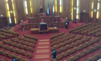 Online reporters sent out of budget defence session at senate