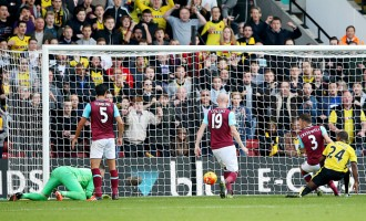Ighalo scores two to condemn West Ham to first away loss