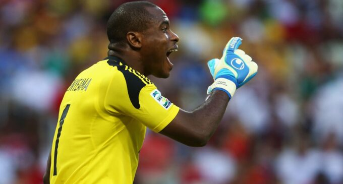 Enyeama: It's a big shame only two players have 100 caps for Eagles
