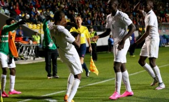 Eaglets rout hosts Chile to qualify for 2nd round