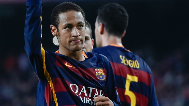 Eto'o tells Neymar to 'train, train and train'
