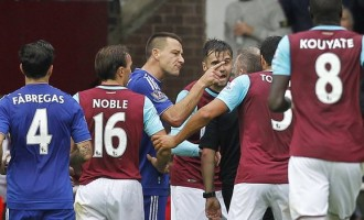 West Ham, Chelsea fined by FA over misconduct charges
