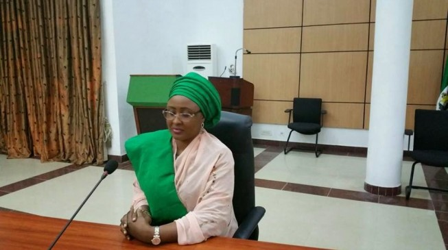 Aisha Buhari apologises to Nigerians over viral video