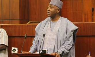 Eagle Square belongs to all of us, says Saraki on Kwankwaso's declaration drama