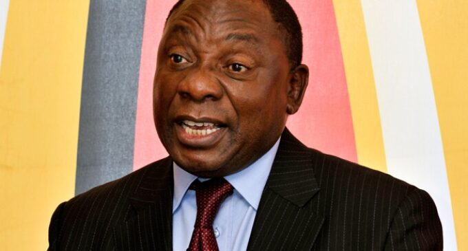 After booing at Mugabe's funeral, Ramaphosa sends envoys to seven African countries