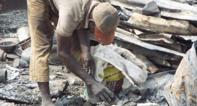 Defence Intelligence Agency: Scavengers collect items for explosives — they need to be monitored