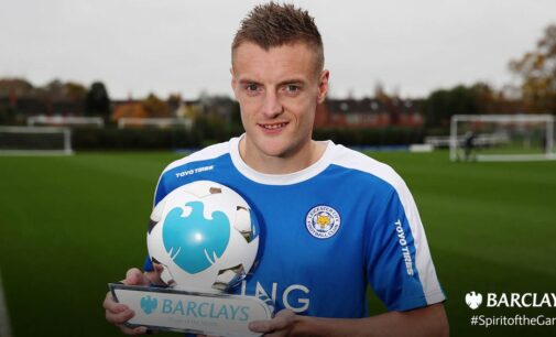 Vardy beats Ighalo to BPL award