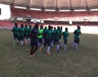 Onazi expected as Eagles prepare for Swaziland