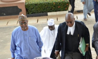 Lawyer: We're not aware of FG's offer to allow Dasuki attend father's funeral