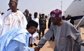 Tinubu opts for Kaduna as APC chieftains flood inauguration of Buhari's ministers