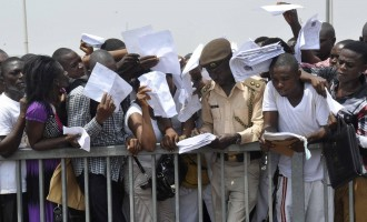 Buhari 'covering up unemployment figures because of 2019 elections'