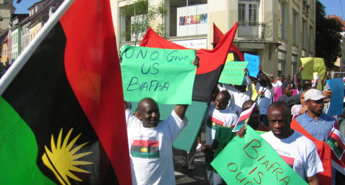 No religious agenda in the struggle of the pro-Biafra youths