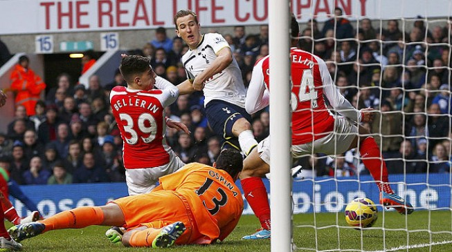 No derby delight for Arsenal as Spurs will 'steal' at least a point at the Emirates