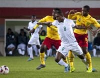 Ighalo: I will prepare for Swaziland like I would against Arsenal