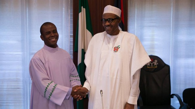 Mbaka threatens Buhari: You'll go nowhere if you remain ungrateful (video)