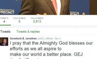TWITTER STATS: Buhari had 12,000 followers in 6 hours, Jonathan got 2,600 in 24 hours