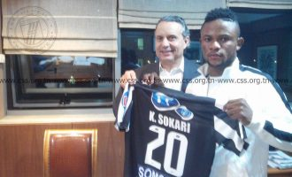 Sokari's N100m Sfaxien move, promotion for 'new Iniesta'