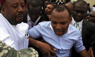FG slams felony charge on Biafra's Kanu